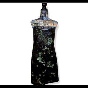 Vera Wang Short Evening Dress